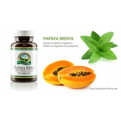 Papaya y Menta Masticable (70 tab)