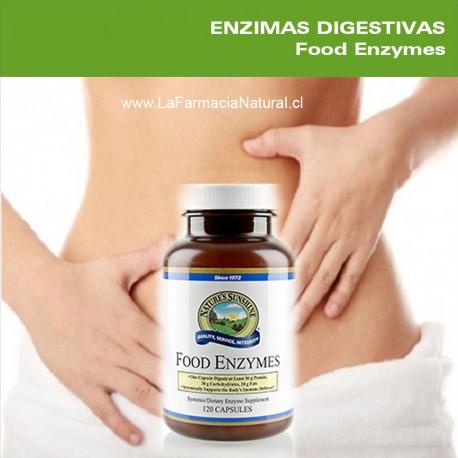 Food Enzymes (120 Cap)