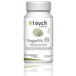 Vitamina D3 800UI (90 tab) VEGAN